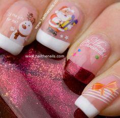 Cute Easy Christmas Nail Art Designs Ideas 2013 2014 9 Cute & Easy Christmas Nail Art Designs & Ideas 2013/ 2014