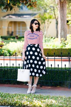 """Never would have thought dots and stripes could work so well together!  """"Kendi Everyday: Polka Dots and Stripes"""""""