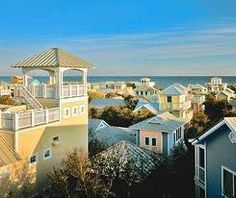 "Seaside, Fl. (between Destin and Panama City) is a little village with quaint architecture located on the beach. It is where Jim Carry filmed his movie, ""The Truman Show"". About a 45 minute drive from us."