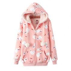 rabbit hoodie || use discount code tigerlily for 10% off!