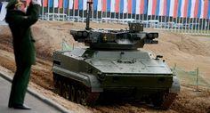 Robot Tempur Rusia Akan Diimplementasikan Pada 2025 | http://www.hobbymiliter.com/2647/robot-tempur-rusia-akan-diimplementasikan-pada-2025/