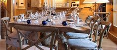 Christmas Day lunch at Chalet Blanchot, Courchevel