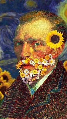 """For my part I know nothing with any certainty, but the sight of the stars makes me want to dream."" – Vincent Van Gogh Visit us for our starry night collections! Van Gogh Wallpaper, Vincent Willem Van Gogh, Starry Night Art, Van Gogh Art, Sunflower Wallpaper, Van Gogh Paintings, Modern Artwork, Arte Pop, Aesthetic Vintage"