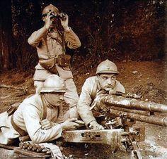 French 37mm Puteaux light field gun #WWI, #GreatWar, #37mm