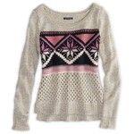 AE Fair Isle Crew Sweater
