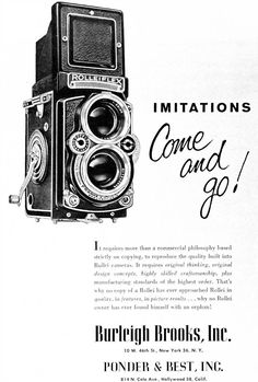 Rollei TLR History