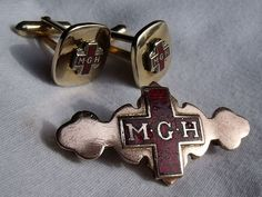 Montreal General Hospital Nurses Pin and Cuff-links I have this pin and the seller didn't know where it was from. After looking at hundreds of Nursing pins over the years, you kind of know what the letters stand for.