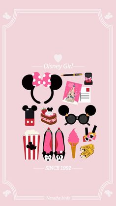 Disney Girl Minnie Pink Wallpaper
