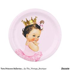 Tutu Princess Ballerina Baby Shower