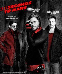 30 Seconds To Mars -  Fan Art