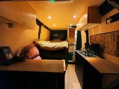 L2H2 Campervan Ideas, Camper Van, Corner Desk, Furniture, Home Decor, Corner Table, Decoration Home, Recreational Vehicles, Room Decor