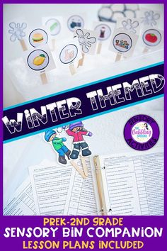 Use this winter sensory bin speech and language companion to target articulation, vocabulary, grammar and more! This winter sensory bin is perfect for preschool ages to grade. Preschool Speech Therapy, Articulation Therapy, Speech Therapy Activities, Language Activities, Grammar Activities, Sensory Bins, Sensory Activities, Winter Activities, Special Needs Students