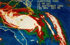 Hurricane Hugo was the most severe hurricane to strike South Carolina in the 20th century and the second most severe to hit the U.S just behind Hurricane Carla.