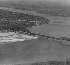 Pennsylvania Railroad Bridge, Louisville, Kentucky, 1929. :: Herald-Post Collection