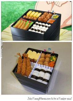 My future kawaii food Japanese Snacks, Japanese Food, Cute Food, Yummy Food, Disney Inspired Food, Anime Bento, Food Porn, Food Cartoon, Cute Desserts