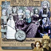 Hidden Vintage Studios Her Royal Ice-Ness