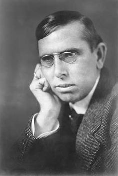 """August 27, 1871 – December 28, 1945: Theodore Dreiser: """"Among the forces which sweep and play throughout the universe, untutored man is but a wisp in the wind. Our civilization is still in a middle stage, scarcely beast, in that it is no longer wholly guided by instinct; scarcely human, in that it is not yet wholly guided by reason...."""""""