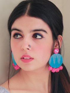 Mini Bar Stud earrings in Sterling Silver, short silver bar stud, sterling bar post earrings, small silver earring, minimalist jewelry - Fine Jewelry Ideas Bar Stud Earrings, Diy Earrings, Fashion Earrings, Earrings Handmade, Tassel Earrings, Statement Earrings, Fashion Jewelry, Diy Fabric Jewellery, Fabric Earrings