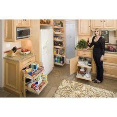 13 best slide out shelves images decorating kitchen diy ideas for rh pinterest com
