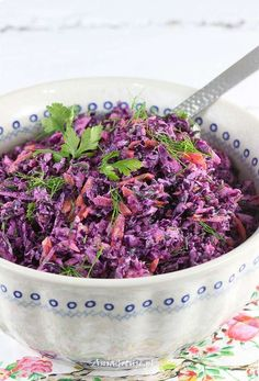 Appetizer Salads, Appetizers, Polish Recipes, Polish Food, Kraut, Starters, Finger Foods, Side Dishes, Cabbage