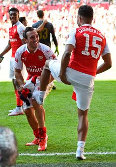 Cazorla pays tribute to Oxlade-Chamberlain's decisive finish.