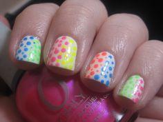 Lavish Layerings - Neon Dotticure