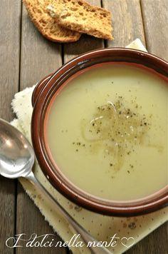 Zuppa di cipolle e patate.