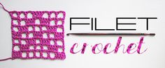 Explore the basics of filet crochet with this step-by-step tutorial. Let's crochet a 7x7 grid together to practice working designs into filet crochet mesh.