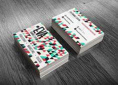 Bussiness Card Design by Patri Olepaint, via Behance