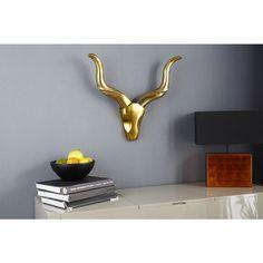 Modern decoratie Gewei Style Rocks goud - 20736