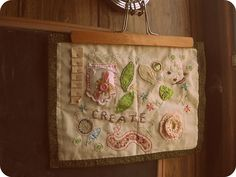 cute little art quilt: by redhang on Flickr