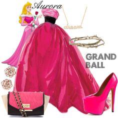 "Sleeping Beauty ""Aurora Grand Ball"" by jess-d90 on Polyvore"