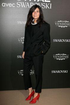 Emmanuelle Alt - Vogue Fashion Festival opening dinner, Paris – November 23 2017