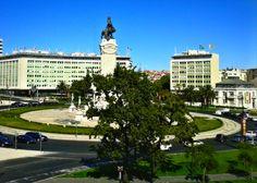Plaza Marques de Pombal #lisbon #travel #plaza