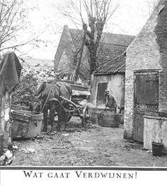 Boerderij aan de Spangeschekade, Delfshavensche Schie. 1928