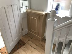 Electric meter cupboard in Hallway. By www.harrisonwoodwork.com in Urmston. #carpenter #electricmetercupboard #gasmetercupboard Hallway Cupboards, Alcove Cupboards, Hall Cupboard, Hallway Decorating, Decorating Ideas, Gas And Electric, Cabinet Making, Diy Cabinets, Joinery