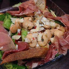 Greens and beans salad. Warning: may induce happiness. #feelgoodfriday
