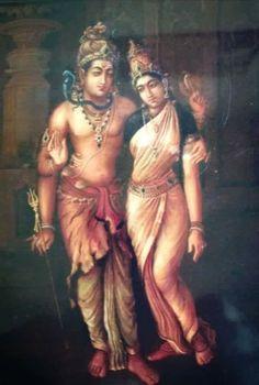 Lord Shiva and Parvati Shiva Yoga, Shiva Hindu, Mahakal Shiva, Shiva Art, Hindu Deities, Rudra Shiva, Krishna Radha, Tantra, Shiva Parvati Images