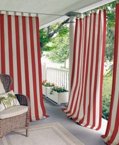 Highland Stripe Indoor Outdoor Panel Collection