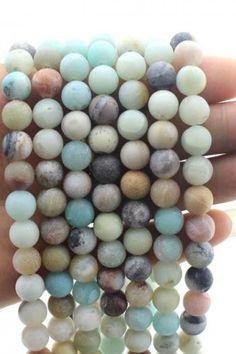 6-12 mm Rose Morganite Round Gemstone Loose Beads 15/'/'AAA