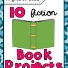 10 {fiction} book report projects Aligned to CCSS