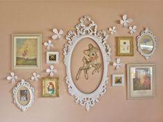 pretty wall collage.