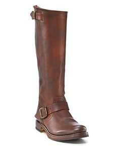"Frye ""Veronica"" Slouch Tall Boots with Extended Calf"