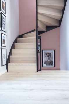 Awesome Awesome Loft Staircase Design Ideas You Have To See. More at trendec… Awesome Awesome Loft Staircase Design Loft Staircase, House Stairs, Staircase Design, Staircases, Black Staircase, Iron Staircase, Furniture Inspiration, Home Decor Inspiration, Decor Ideas