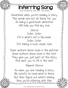 Ms. Coleman's First Grade: Let the Inferring Begin!: