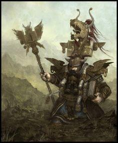 Rune Priest - EA Mythic, © Games Workshop