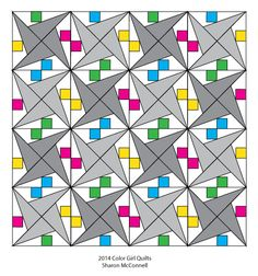 Quilting How To: Paper Piecing with less waste - Color Girl Quilts by Sharon McConnell Blog Archive » Color Girl Quilts by Sharon McConnell xox