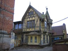 Volodarsk Wooden Lace Of Russian Architecture