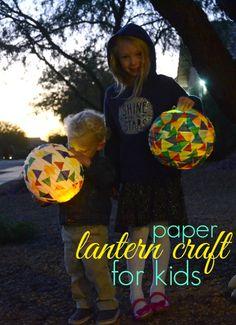 Celebrate With Kids Around The World: St Martin's Lantern Festival