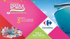 Promoção Festa a Bordo Colgate Palmolive e Carrefour